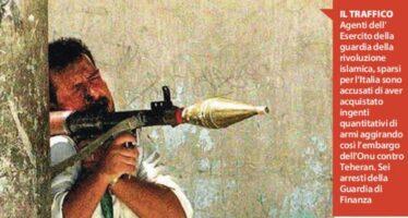 "Elicotteri e lanciamissili lo ""shopping"" di armi dei pasdaran iraniani"