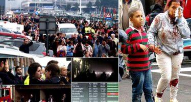 Bruxelles sotto attacco, kamikaze e bombe Isis all'aeroporto e in metro, 34 morti.