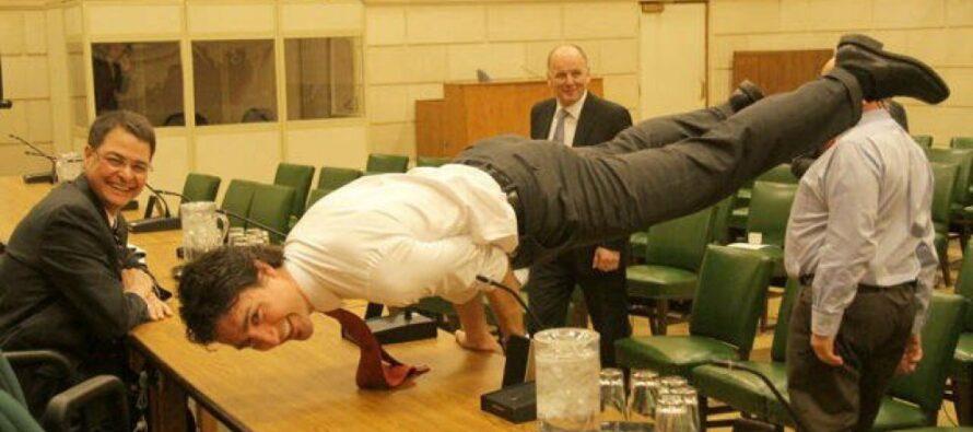Trudeau, i muscoli del Canada pacifista