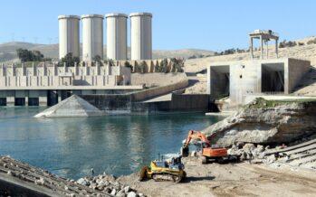 All'italiana Trevi i lavori per la diga di Mosul