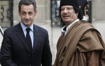 Francia. L'ex presidente Sarkozy in stato di fermo per i soldi ricevuti da Gheddafi