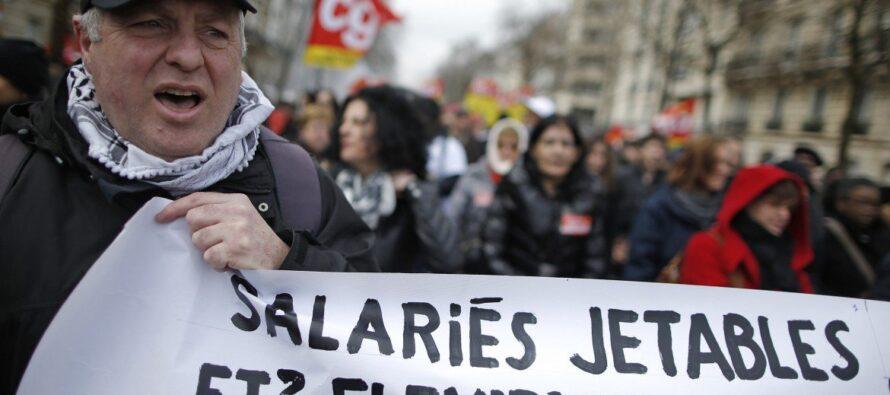 """No al """"Jobs Act"""" versione Hollande"""