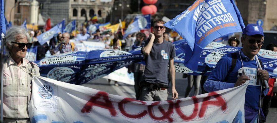 """La marcia dei referendum """"sociali"""", scuola e ambiente"""