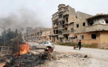 Missione in Libia, Italia alla guida