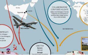 Libia. I quaranta obiettivi sulla mappa Usa