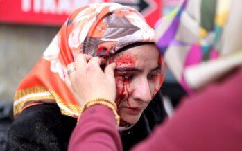 Turchia, lacrimogeni sulla stampa
