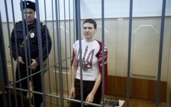 La pilota nazionalista ucraina condannata a 22 anni di carcere