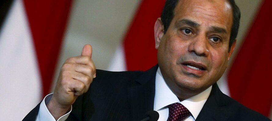 L'«anonimo» che rischia di aiutare Al Sisi