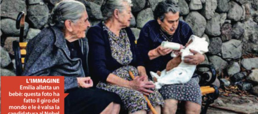 """La nonna candidata al Nobel """"L'Europa imiti noi di Lesbo """""""