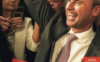 Austria, vola l'ultradestra Hofer in testa con il 35% Le Pen: grande risultato