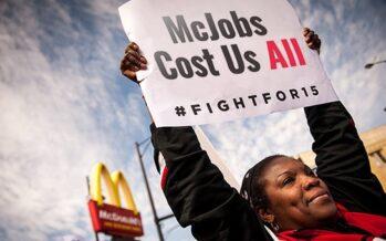 Fast food, lotta globale per il salario minimo