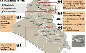 Iraq, nuova missione Gli elicotteri italiani in prima linea contro il Califfato
