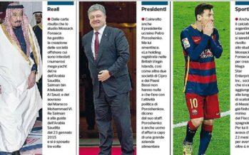 Panama Papers, dai re ai calciatori