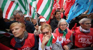 Pensionati in piazza il 19 maggio. E gli esodati si appellano a Poletti