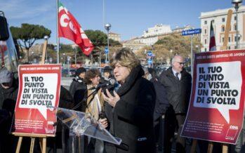 Cgil, una firma contro il «modello Renzi»