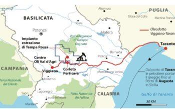Puglia e Basilicata lite da 170 milioni su Tempa Rossa