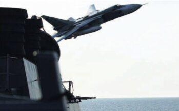 Un caccia di Mosca sfiora l'aereo Usa Prove di guerra fredda
