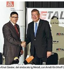 accordo alla IG Metall