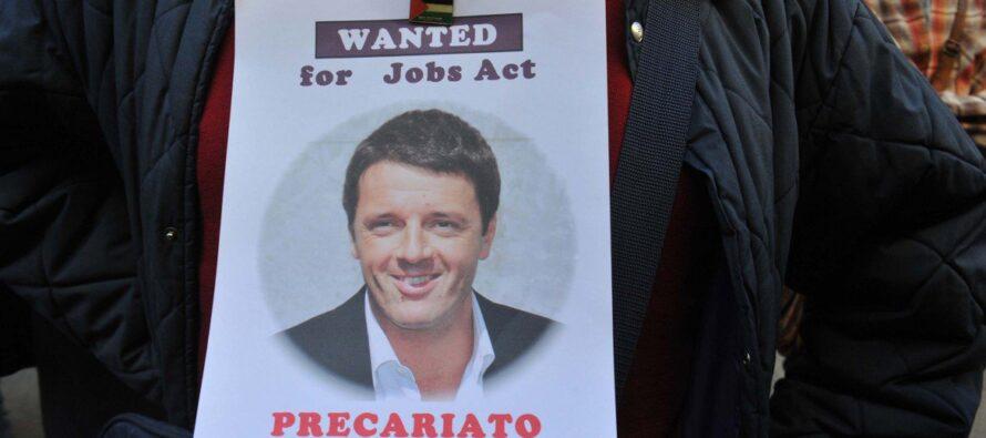Il tribunale boccia il Jobs Act renziano. Una spina per un nuovo governo M5S-Pd-LeU
