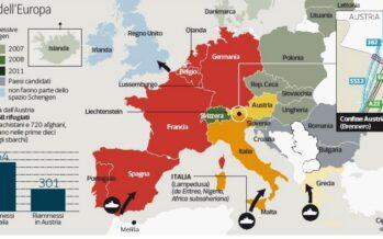 Cresce il numero di profughi in Italia attraverso il Brennero I dati che smentiscono Vienna