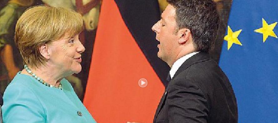 «Le frontiere non si chiudono» E Merkel tende la mano a Renzi