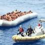 salvataggio di migranti naufraghi