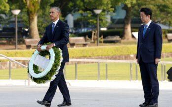 Obama a Hiroshima: «Mai più atomica»