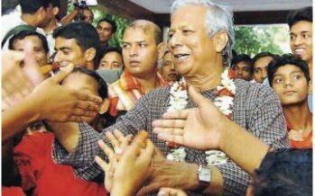 """Il Nobel Yunus """"Microcredito ai giovani del Sud per rilanciare l'Italia"""""""