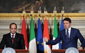 Da Roma sempre più armi al Cairo