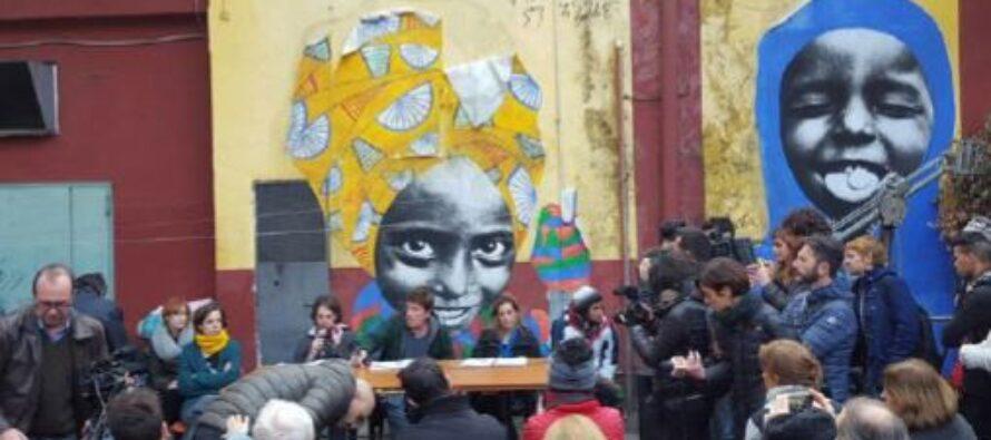 Baobab, a Roma manifestazione per svegliare il Comune