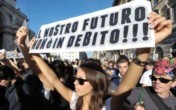 «Tutta la vita con il debito grazie al piano Renzi sulle pensioni»
