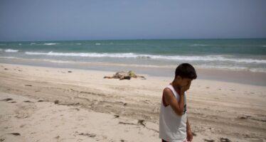 Zwara, spiaggia di morte