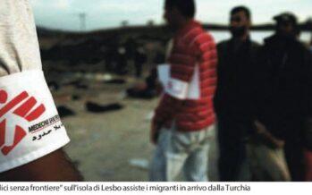 Msf denuncia le condizioni del campo di Lesbo: «migranti ormai allo stremo»