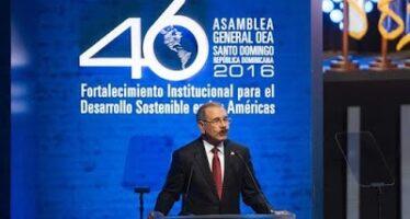 OEA: adoptada tímida resolución de desagravio a República Dominicana con relación a invasión de 1965