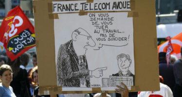 Mobbing. Condannato il «management del terrore» di France Télécom