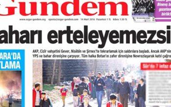 Turchia.Cadono le accuse contro Ozgur Gundem, assolti tre giornalisti