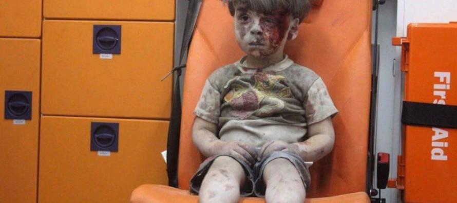 Il silenzio di Omran è quello di Aleppo
