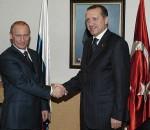 Vladimir Putin con Erdogan