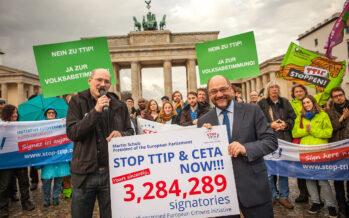 Berlino affonda il Ttip: «Fallito»