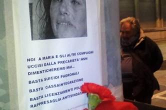 manifesto in ricordo di Maria Baratto