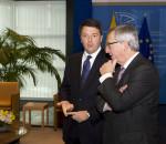 Jean Claude Juncker e Matteo Renzi