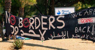Ventimiglia, polizia manganella No Borders al parco Roja