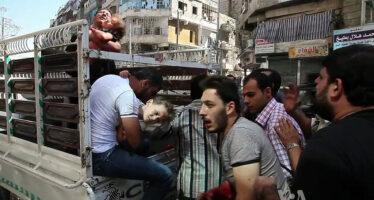 Nella notte di Aleppo, così muoiono i bambini