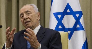 Shimon Peres, la retorica della pace