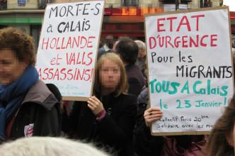 calais-proteste