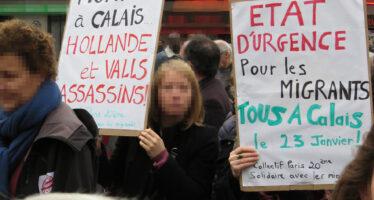 Calais, evacuazione cartesiana