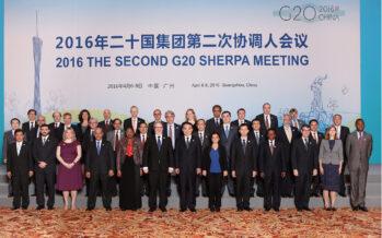 G20, un fragile inno neoliberista