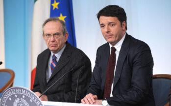 Renzi punta tutto sulle tasse