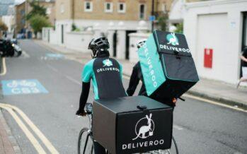 Sciopero dei rider Deliveroo a Brighton