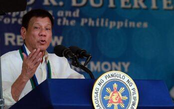 A Pechino strappo di Duterte: «Manila si separa dagli Usa»